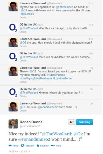Ronan Dunne Twitter